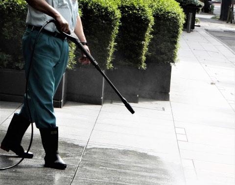 ビル内外清掃管理